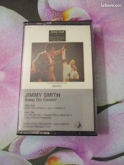 Cassette audio Jimmy Smith 4 Hérouville-Saint-Clair (14)