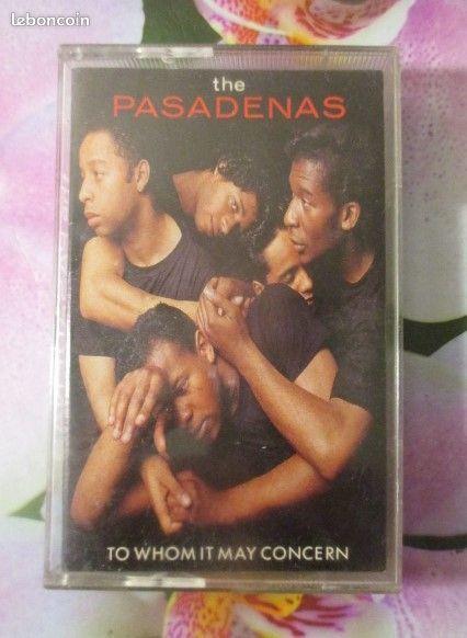 Cassette audio The Pasadenas 3 Hérouville-Saint-Clair (14)