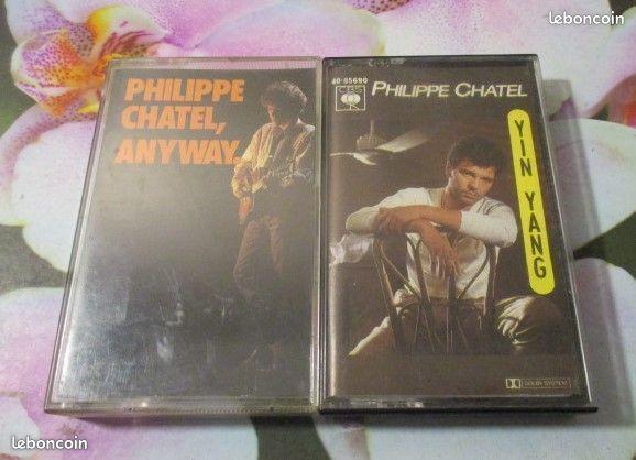 Cassette audio Philippe Chatel  0 Hérouville-Saint-Clair (14)