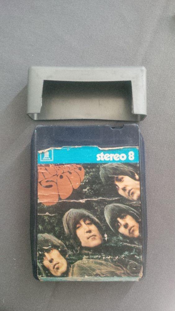 cassette audio stereo 8 the beatles rubber soul 34 Gardanne (13)