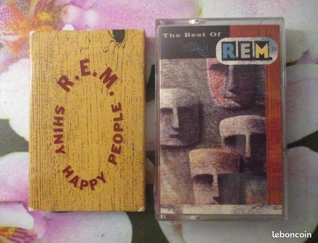 Cassette audio R.E.M.  0 Hérouville-Saint-Clair (14)