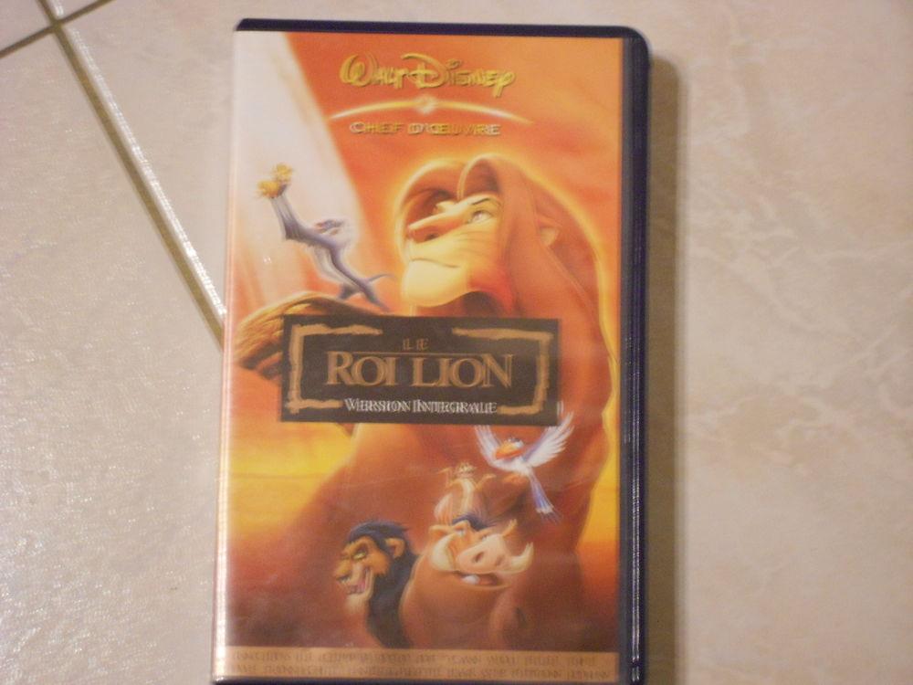 cassette vhs disney le roi lion DVD et blu-ray