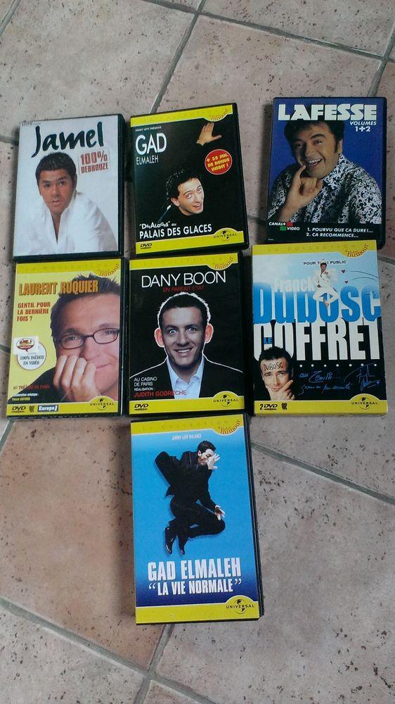 Lot de 7 DVD + 1 cassette d'humoristes 12 Toulouse (31)
