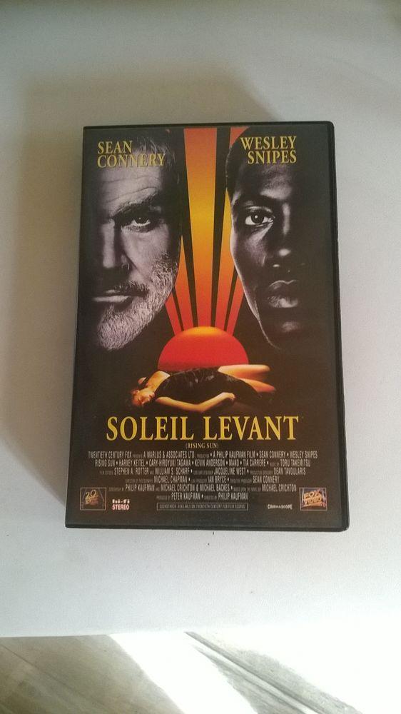 Cassette VHS  Soleil Levant 1993 Avec Sean Connery et Wes 5 Talange (57)