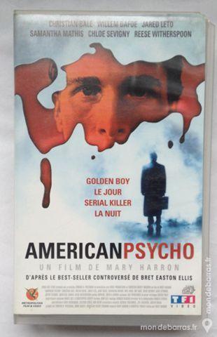 cassette vidéo Americanpsycho 1 Illkirch-Graffenstaden (67)
