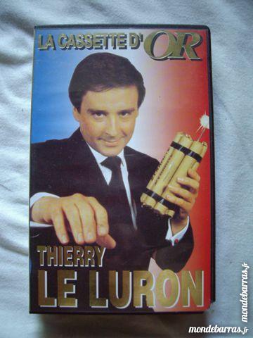Cassette Vidéo VHS Thierry Le Luron à 0,10 € 1 Bouxwiller (67)
