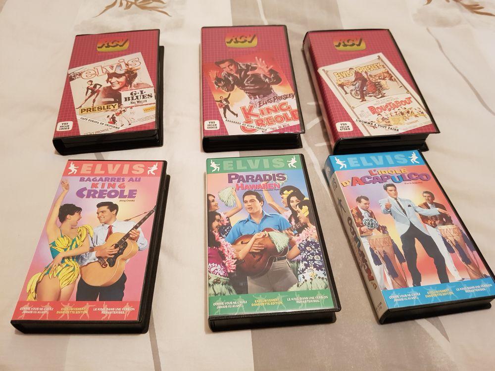lot de vhs cassette vidéos d elvils presley 50 Mérignac (33)