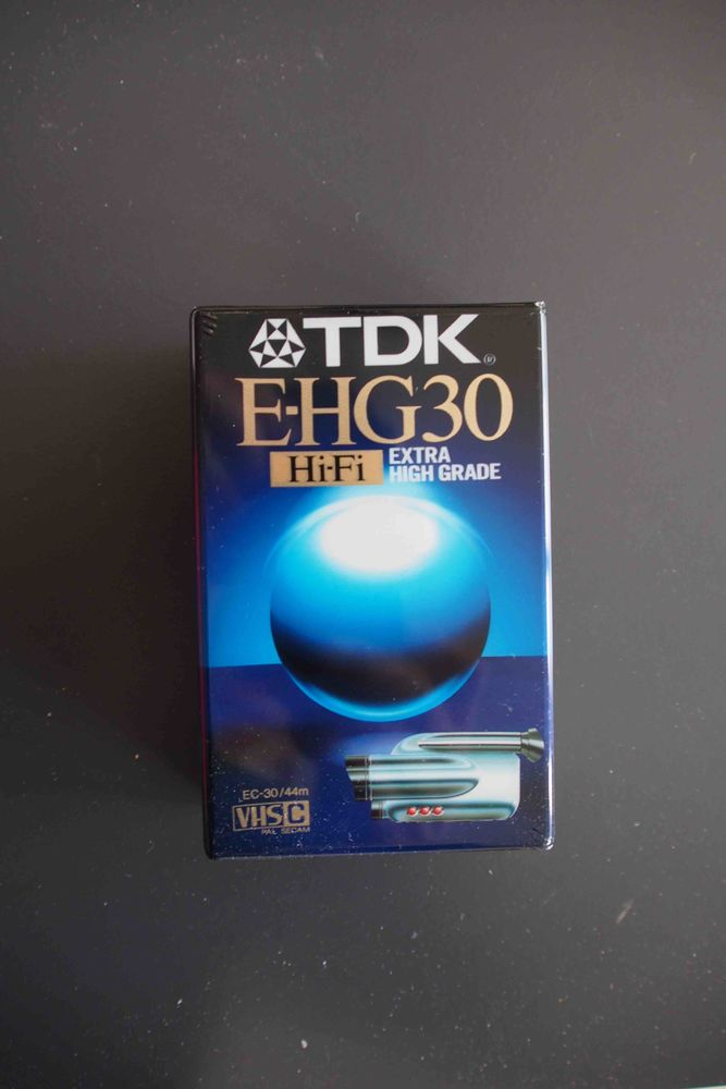 Cassette TDK EHG 30 - VHS -C 10 Rennes (35)