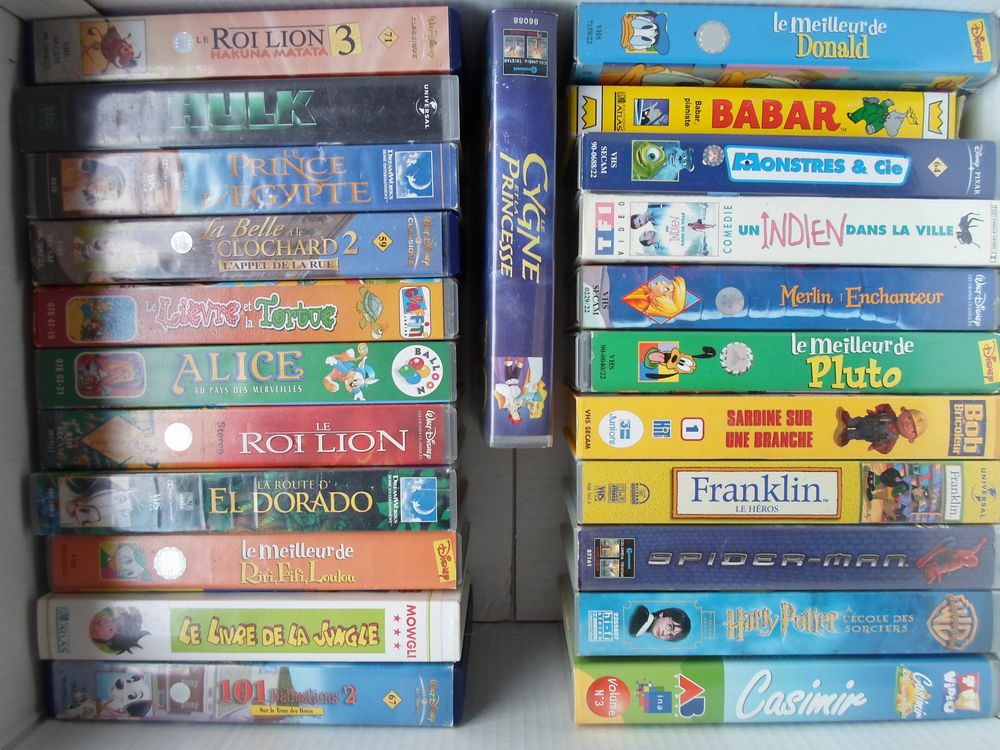 cassette VHS 25 Thourotte (60)