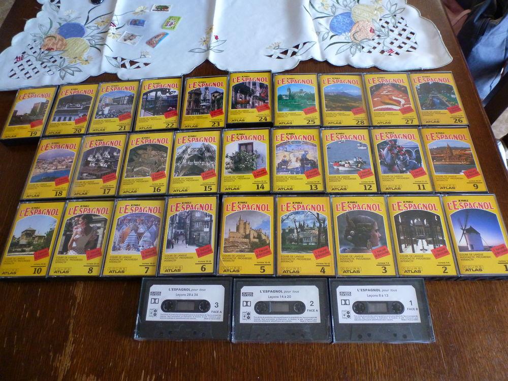 Cassette7 d'espagnol 20 Le Plessis-Robinson (92)