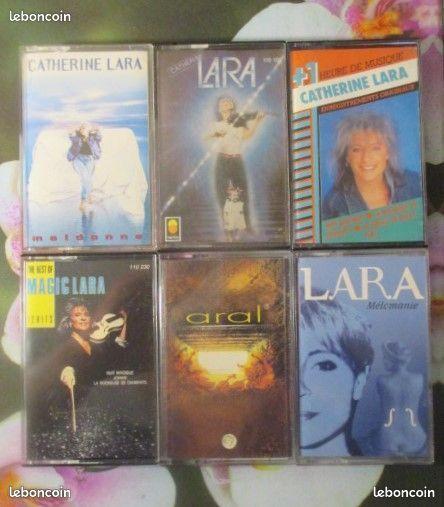 Cassettes audio Catherine Lara 0 Hérouville-Saint-Clair (14)