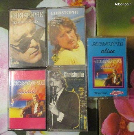 Cassettes audio Christophe 0 Hérouville-Saint-Clair (14)