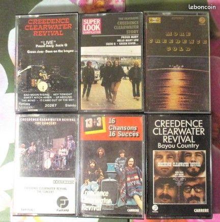Cassettes audio Creedence Clearwater Revival 0 Hérouville-Saint-Clair (14)