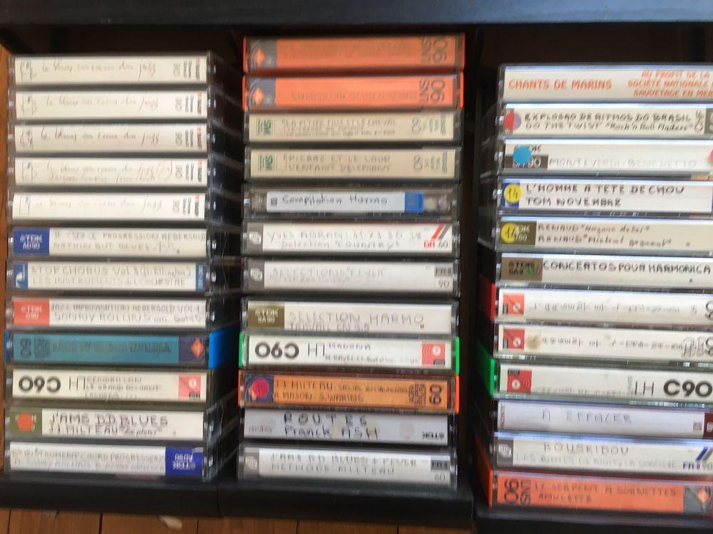 Cassettes audio enregistrées d'excellente qualité.  3 Saint-Malo (35)