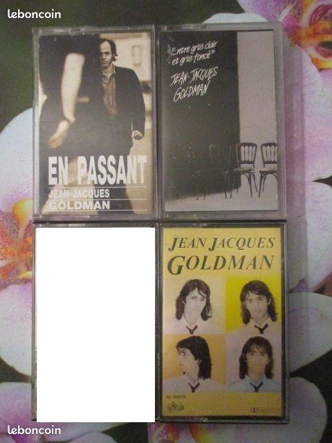 Cassettes audio  Jean-Jacques Goldman  0 Hérouville-Saint-Clair (14)