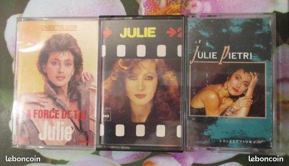 Cassettes audio Julie Pietri 0 Hérouville-Saint-Clair (14)