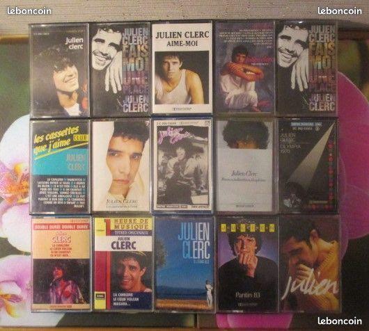 Cassettes audio Julien Clerc 0 Hérouville-Saint-Clair (14)