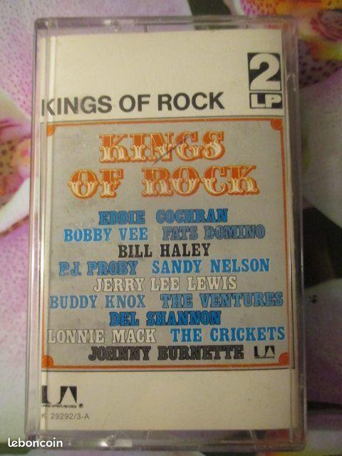 Cassettes audio Kings of rock  3 Hérouville-Saint-Clair (14)