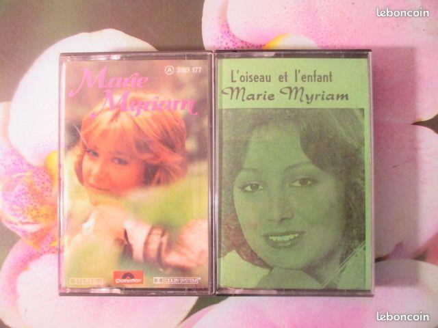 Cassettes audio Marie Myriam  0 Hérouville-Saint-Clair (14)