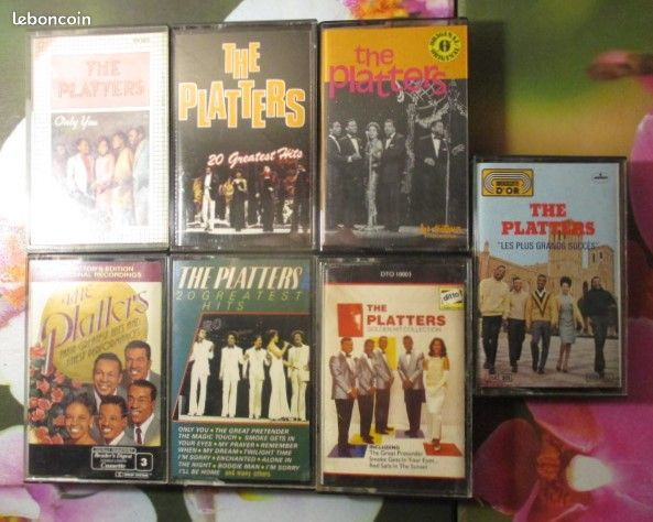 Cassettes audio The Platters  0 Hérouville-Saint-Clair (14)