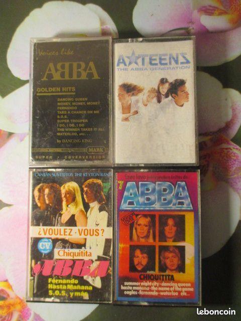 Cassettes audio Reprises du groupe ABBA CD et vinyles