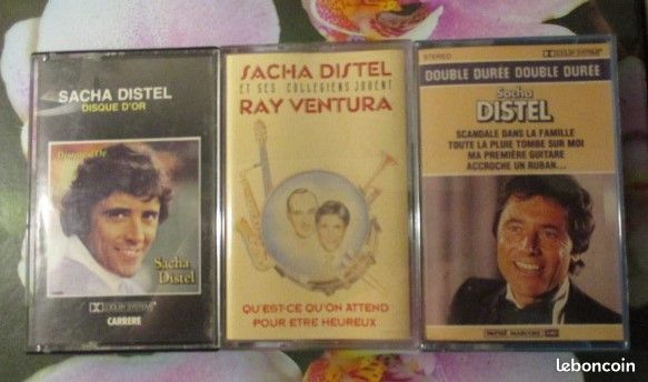 Cassettes audio Sacha Distel  0 Hérouville-Saint-Clair (14)