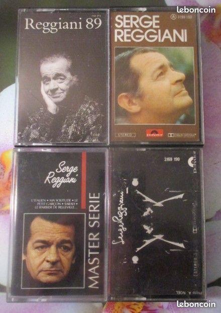 Cassettes audio Serge Reggiani 0 Hérouville-Saint-Clair (14)