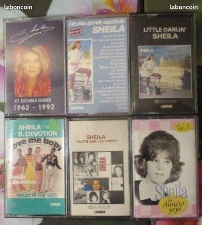 Cassettes audio Sheila 0 Hérouville-Saint-Clair (14)