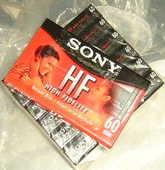 7 cassettes audio HF SONY 60mn neuves 28 Versailles (78)
