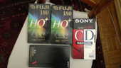CASSETTES VHS NEUVES SONY ET FUJI 20 Noisy-le-Grand (93)