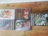 Lot de 2 DVD, 2 cassettes et un pack de jeux PC emballé 5 Rouen (76)
