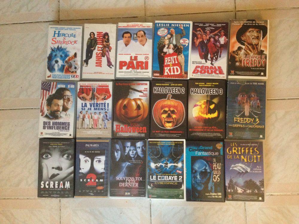 lot de 18 cassettes VHS populaires 20 Sarcelles (95)