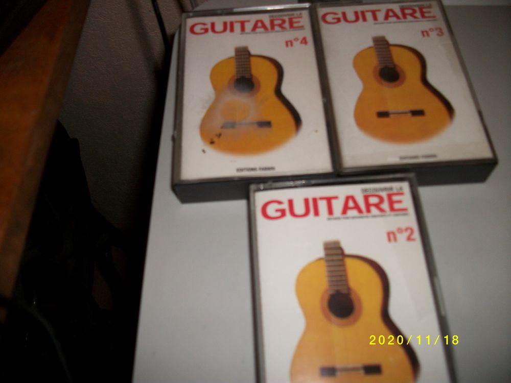 cassettes pour decouvrir la GUITARE éditions fabbri 5 Treize-Septiers (85)