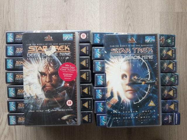 Cassettes VHS Star Trek DS9 5 Saint-Ouen (93)
