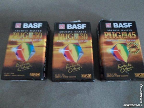lot de 3 cassettes video BASF pour camescope 40 Amélie-les-Bains-Palalda (66)