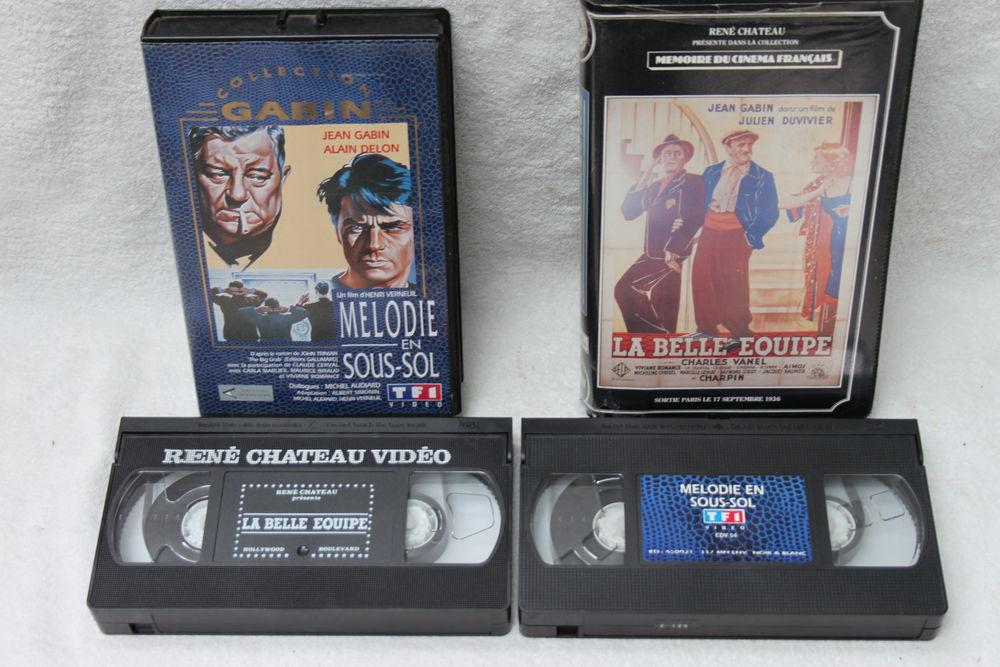 Cassettes vidéo 1 euro le lot  1 Montigny-Lencoup (77)
