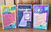 Lot de 3 cassettes vidéo vhs karaoké  6 Challans (85)