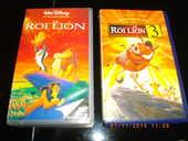 2 CASSETTES VIDEO DU :  ROI LION   N° 1 ET 3 10 Perros-Guirec (22)