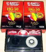 3 cassettes video VHSC BASF 12 Versailles (78)