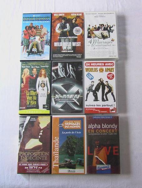Cassettes video 1 Aixe-sur-Vienne (87)