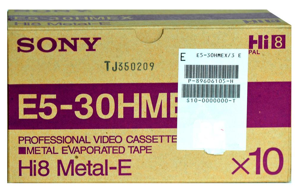Cassettes vierge HI 8 28 Alfortville (94)