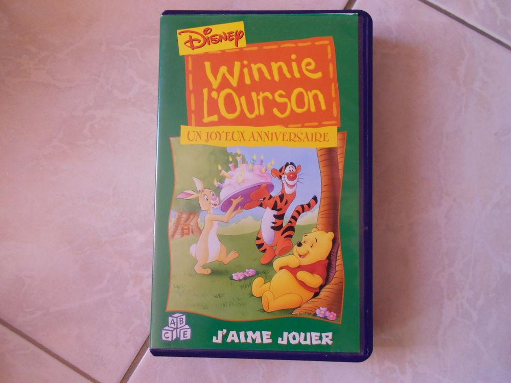 lot de 2 cassettes vhs winnie l ourson 10 Saint-Donat-sur-l'Herbasse (26)
