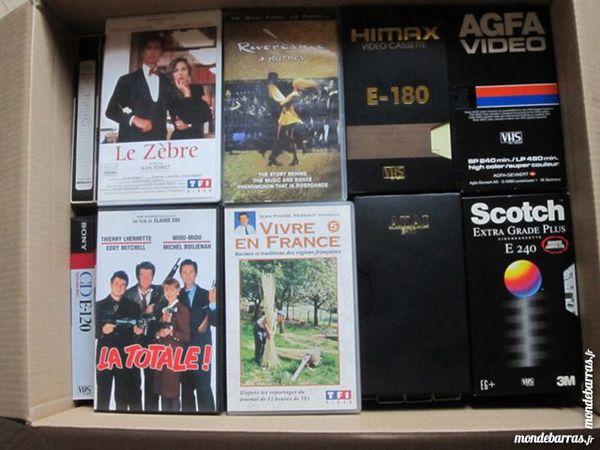 CASSETTES V.H.S DVD et blu-ray