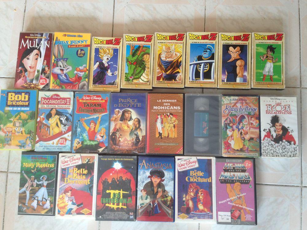 lot de 22 cassettes VHS 20 Sarcelles (95)