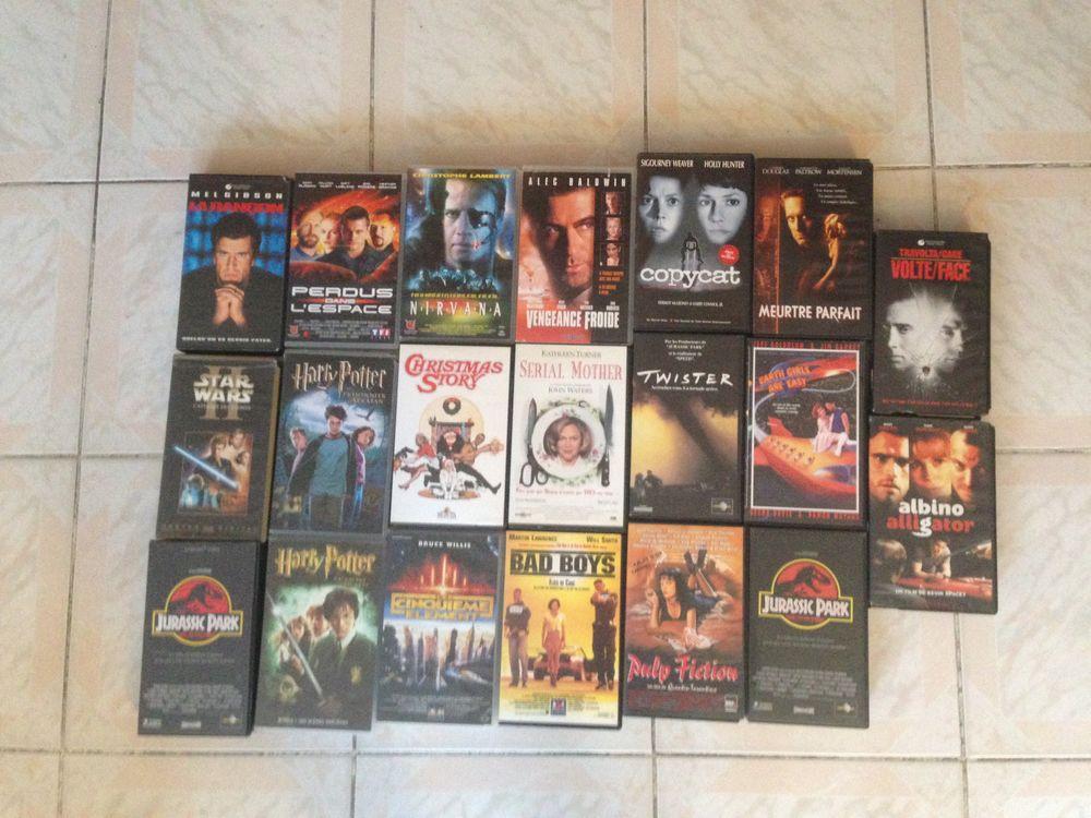 lot de 20 cassettes VHS 20 Sarcelles (95)