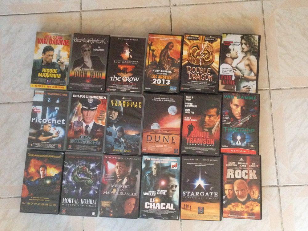lot de 18 cassettes VHS 20 Sarcelles (95)