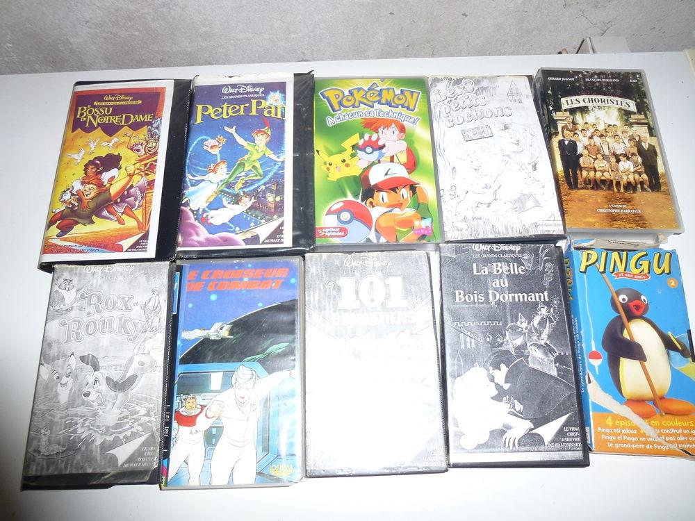 Lot de 10 cassettes 3 Le Clion Sur Mer (44)