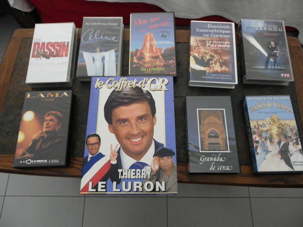 CASSETTES VHS  5 Cournon-d'Auvergne (63)
