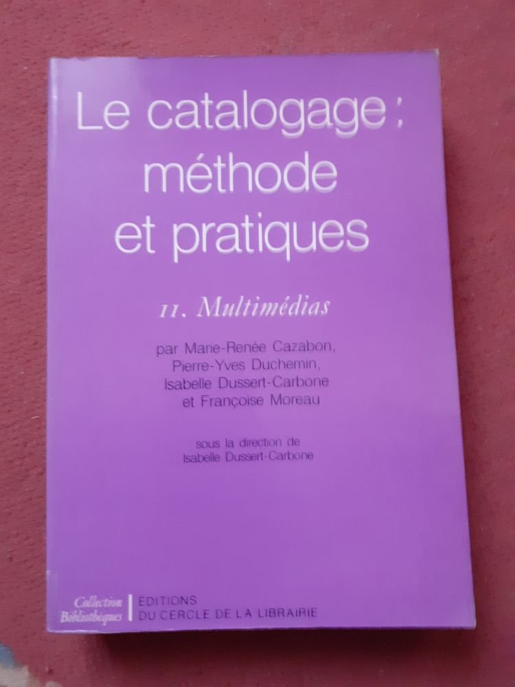 Le catalogage, méthodes et pratiques, tome 2, multimédias 18 Troyes (10)
