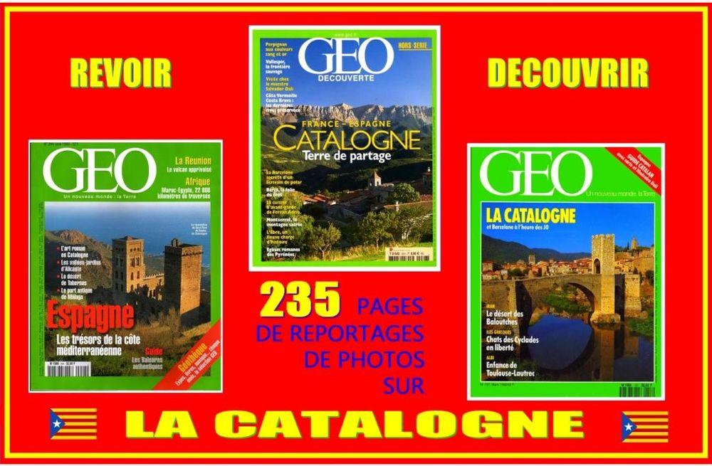 LA CATALOGNE - géo - ESPAGNE / prixportcompris 15 Strasbourg (67)